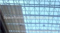 High quality steel structure roof system space frame canopy