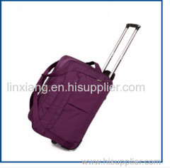 Hot selling wear resistance trolley bag luggage lightweight travel time trolley bag