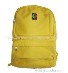 hi-vis yellow school bag