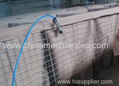4mm wire Galfan-coated Hesco Walls
