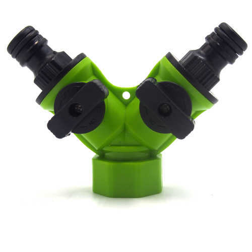 Plastic 3-way Tap Connector With Valve
