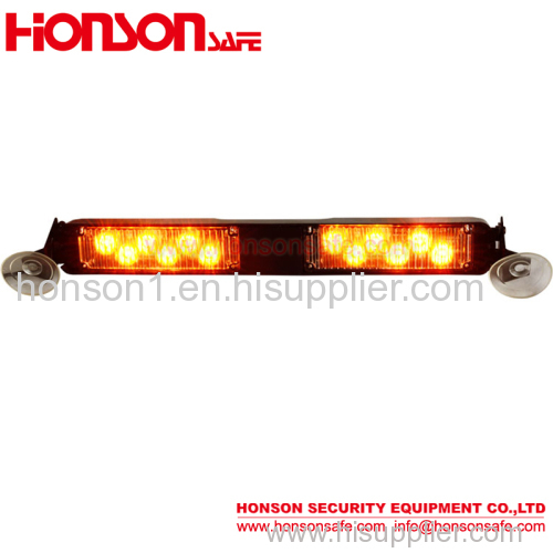 Amber LED Warning Sucker Visor Light Traffic Lights for Vehicle