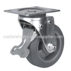 Swivel Heavy Duty Caster With Brake