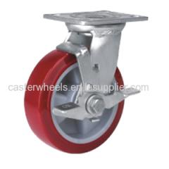 Heavy Duty Caster With Side Brake