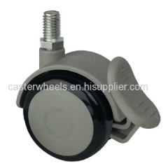 Furniture caster and wheels