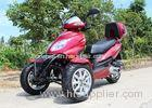 Air Cooled 50cc Adult Tri Wheel Motorcycle Single Cylinder 4 Stroke With Rear Box