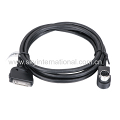 5v sony ipod cable for iPhone 4 4S Car Audio Cable