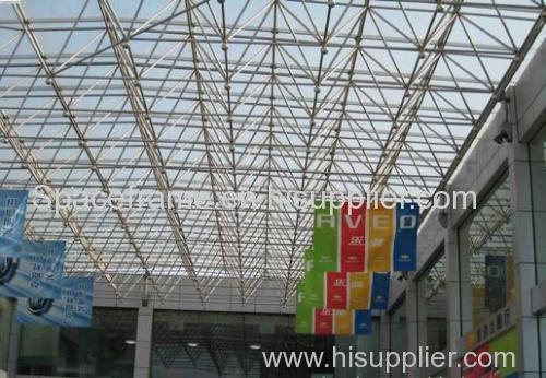 Steel structure roof system space frame canopy/shed