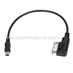 Cable For Audi AMI to USB Cable - audio interface MMI Mini-USB adapter music