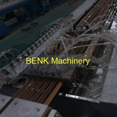 BENK Machinery China small corner PVC profile production line