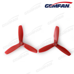 5045 glass fiber nylon bullnose adult rc toys airplane CW CCW Props with 3 blades