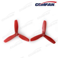 3つのブレードを持つ5045グラスファイバーナイロンバルノーズ大人のrcのおもちゃの飛行機の小道具