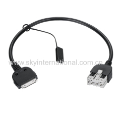 AUX cable For INFINITI G35 G37 iPod Auxilary Harness Cable For iPhone4