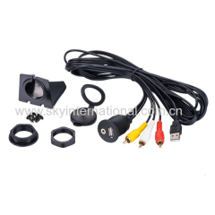 Universal Car Motorcycle Bike Mount Installation USB/Aux 3RCA Extension Cable