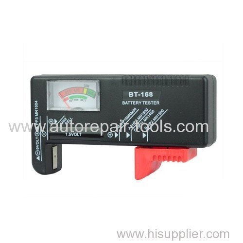 Battery Tester for AA AAA C D 9V 1.5V Button Cell Small Batteries