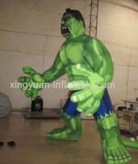 Giant Model Inflatable Hulk For Advertising