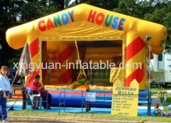 Candy House Inflatable bouncer castle