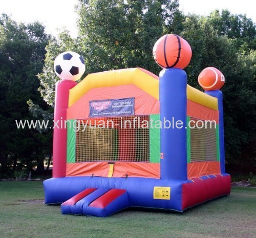 0.55mm PVC tarpaulin Inflatable Bouncer For Sale
