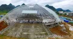 Steel structure coal storage shed steel space frame system