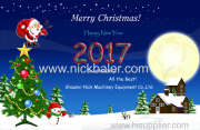 Merry Christmas and Happy New Year By Nick Baler Company