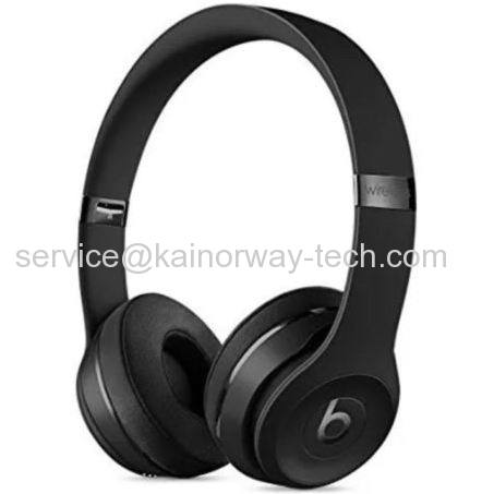 Beats Solo3 On Ear Wireless Bluetooth Headband Headphones Special Edition Black Excellent Condition