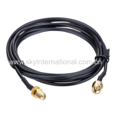 antenna adapter SMA Male to Female RG174 200CM GPS Navigation Extension