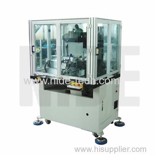 Automatic rotor commutator fusing machine