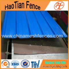 Standard Temporary Steel Hoarding Panel Fencing