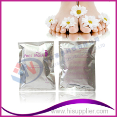 foot skin care product exfoliating foot mask