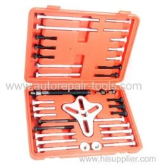 46 pcs Harmonic Balancer Puller/Gear Pulley Steering Wheel Removal Tool Set
