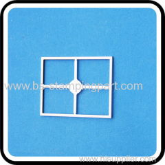 High quality Tinplate RF shield frame for GPS with ISO9001:2008