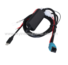 AUX Cable for iPod iPhone 5 6 7 Charger Cable for NEW Alpine Radio