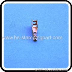 High quality beryllium copper battery clips with nickel plated