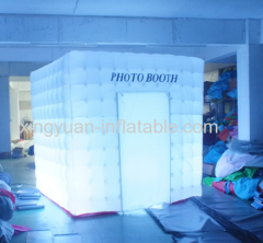 Mobile Cube booth Inflatable Photobooth