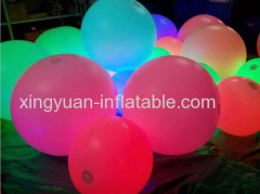 Lighting Throw Ball Inflatable Concert Ball For Event