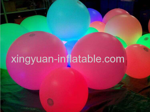 Lighting Throw Ball Inflatable Concert Ball For Event
