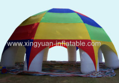 Hot Sale Rianbow Inflatable Spider Tent