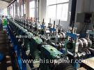 PLC Frequency Control System Rack Roll Forming Machine Machine With 5m/min - 15m/min