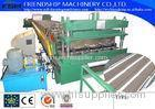 828/1000mm Metal Deck Roll Forming Machine With 10T Hydraulic Decoiler Motor 15KW 3 Phase 50Hz