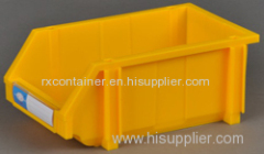 stackable combined plastic storage bin