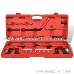 20pc Valve Spring Compressor Removal Installer Kit Cylinder Head Service