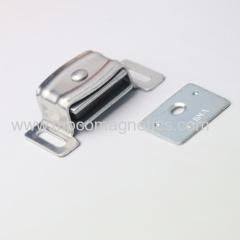 Aluminum heavy duty magnetic catch