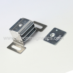 Strong magnetic cabinet catch
