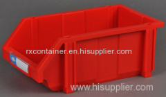 Combination plastic storage bins
