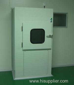 Sterile pass box for cleanroom