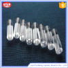 High temperature optical clear quartz crystal glass rod