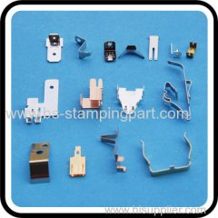metal battery spring clips