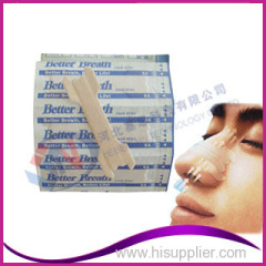 hot sale better breath nasal strips with oem service