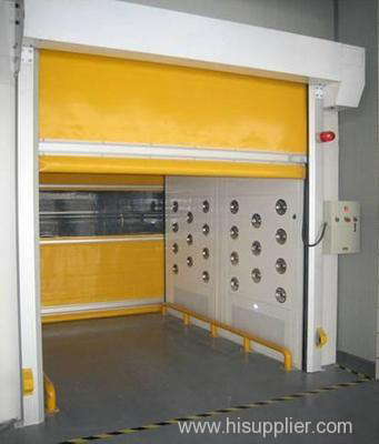 Cargo Air Shower Booth with Fast Rolling Door