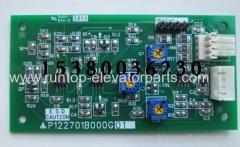 Mitsubishi elevador piezas PCB P122701B000G01